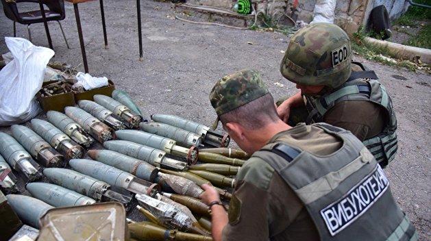 Эхо войны. В Киеве возле Шулявского моста обнаружили боеприпасы