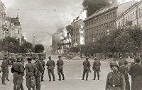 «После тяжелых и продолжительных боев нашими войсками оставлен город Киев»