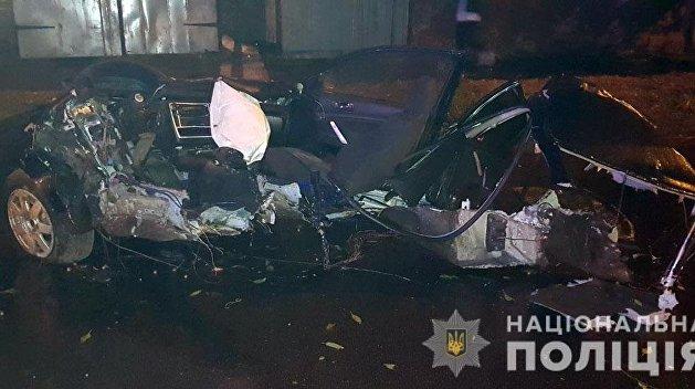 В Чернигове четверо подростков погибли в ночном ДТП