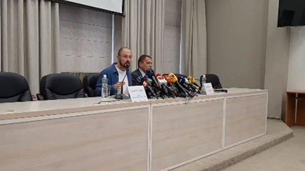 На полуслове: заместитель Скалецкой ушел с брифинга, не дослушав вопрос журналиста