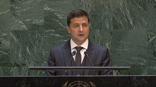 Сенатор описал, что сделают с Зеленским украинские граждане после выступления в ООН