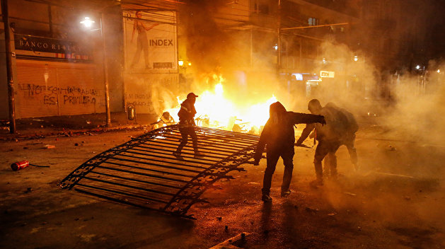Народный бунт в Чили: будущее Украины