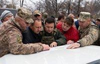 Зеленский в Золотом. Когда украинская власть не может, а радикалы ее не признают
