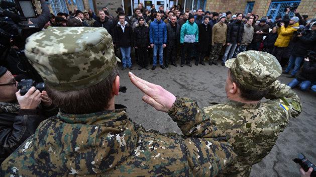 На Украине может измениться призывной возраст
