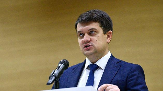 «Это военное преступление» — Разумков раскритиковал предложение Фокина по Донбассу