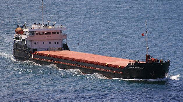 В трюмах затонувшего в Керченском проливе судна было 30 тонн топлива