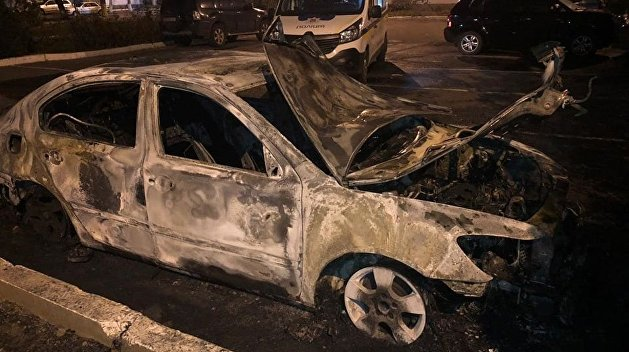 Полиция Украины задержала подозреваемого в поджоге авто журналиста «Схем»