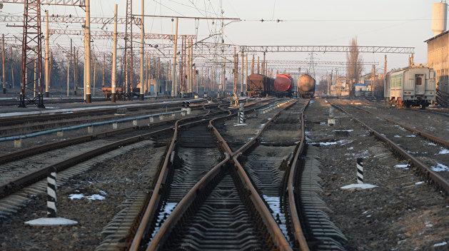 Киев не Московский: На Украине дерусифицировали станции железной дороги