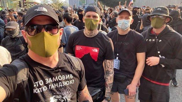 Украинские националисты: «Гонконг нас встретил, как родных»