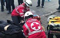 Мужчина умер от инфаркта во время акции протеста у Нацбанка