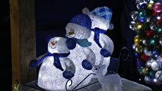 Елочные игрушки. Новогодняя сказка в гостях у Санта-Мороза под Киевом