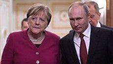 Меркель назвала хорошими обнародованные данные по российской вакцине Sputnik V