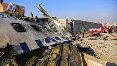 Иранская делегация прибудет на Украину для обсуждения компенсаций за сбитый самолет