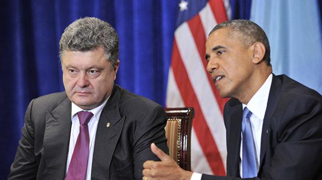 Обама не намерен встречаться с Порошенко