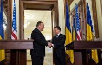 Зеленский и Помпео обсудили установление режима тишины в Донбассе и ситуацию в Белоруссии