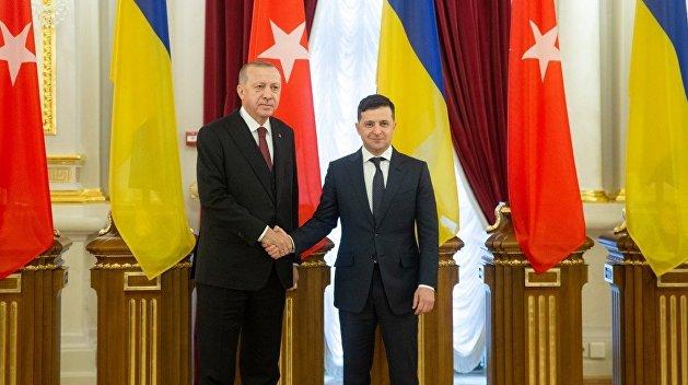 Зеленский поздравил Эрдогана с обнаружением газового месторождения в Черном море