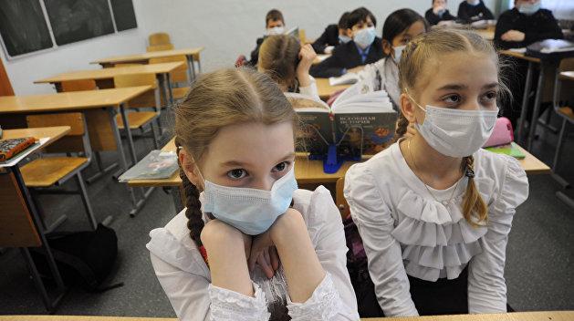 104 школы Днепропетровской области закрылись на карантин из-за гриппа