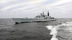 С ракетным эсминцем ВМС США в Черное море зашла турецкая подлодка