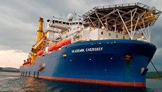 Трубоукладчик «Северного потока-2» прибыл к месту строительства газопровода