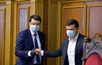 Разумков заявил, что никогда не был другом Зеленского