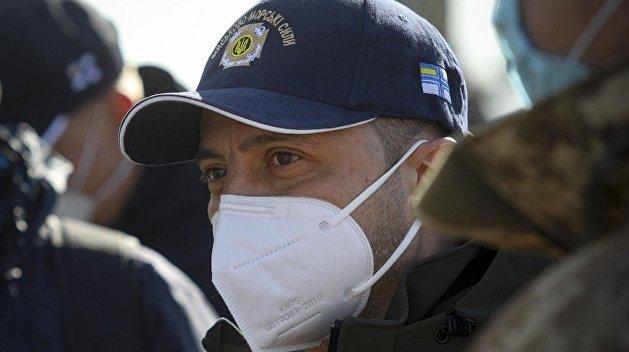 Охрана Зеленского не дала активистам в Днепре обратиться к президенту