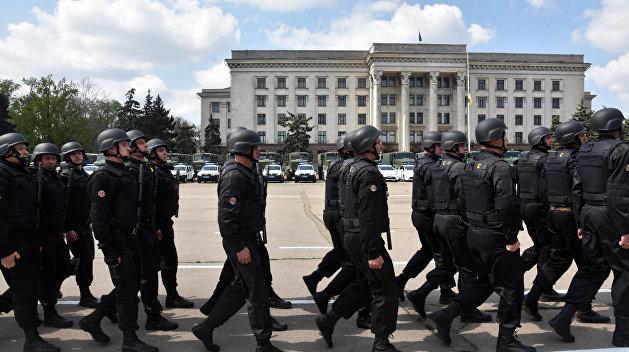 В Одессу ввели войска Нацгвардии