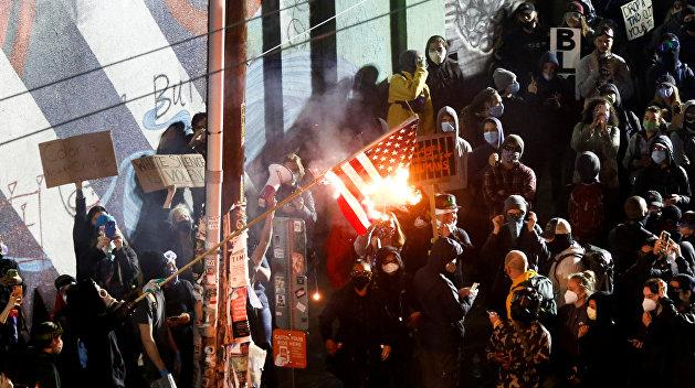 Погребинский назвал самую леворадикальную группу протестующих в США