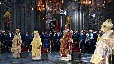 Патриарх Кирилл передал главному храму Вооруженных сил РФ икону, перед которой молился Петр Ι накануне Полтавской битвы