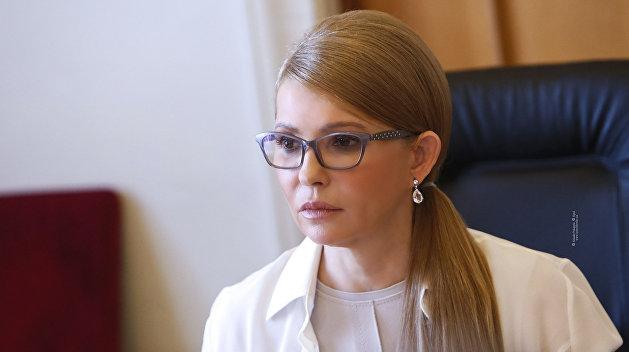 Заразившуюся коронавирусом Тимошенко подключили к ИВЛ