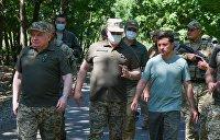 Зеленский на Донбассе: «Гарантировать мы ничего не можем...»