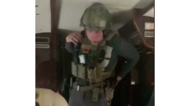 Лукашембо. Появилось видео сына президента Белоруссии в полной боевой готовности