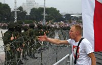 Глухая оборона власти. Марш оппозиции в Минске прошел в условиях, максимально приближенных к гражданской войне