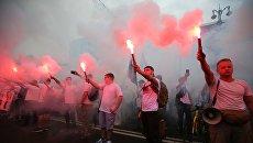 Радикалы устроили антисемитскую акцию под окнами Зеленского