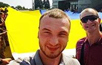 Украинский радикал поддержал акции протеста в Белоруссии фотографиями нацистской оккупации