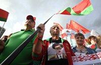 В Минске проходит автопробег в поддержку Лукашенко