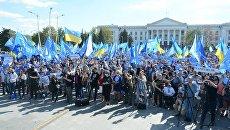 Псевдопатриоты гуляют на свободе. На агитаторов ОПЗЖ напали с ножом
