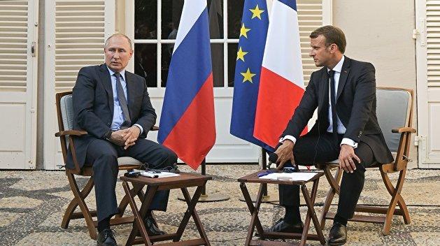 Песков: Путин и Макрон обсуждали обмен заключенными между Украиной и РФ, но без конкретных фамилий