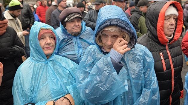Украина: старикам здесь не место