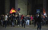 «Поджигают по краям». Почему возникли и что означают протесты в Киргизии