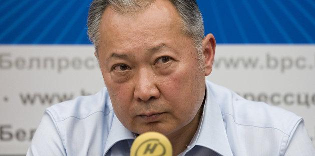 Бывший президент Киргизии сравнил протесты в Бишкеке и Минске