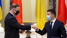 Приватизировать украинские активы за российские деньги: зачем президент Польши прилетел на Украину