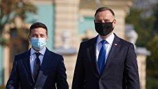 Зеленский и Дуда сделали совместное заявление по итогам встречи