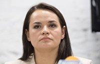 Тихановская не является политиком и никогда им не станет - Протасевич