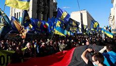 Западная Украина с 12 по 16 октября: «День УПА*» почти без факелов, половина областных центров - «красные», а в Черновцах требуют экономической свободы