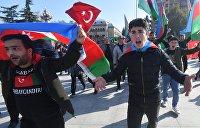 Российские миротворцы в Нагорном Карабахе. Соцсети об уроках для Украины