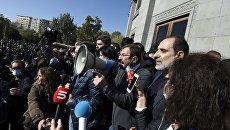 Протестующие в Ереване рассказали, как намерены свергнуть парламентское большинство