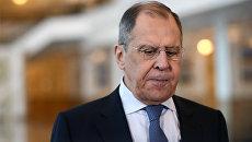 Лавров заявил о «внешнеполитической шизофрении» МИД Украины