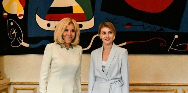 Зеленская рассказала, как вместе с женой Макрона нарушила дипломатический протокол