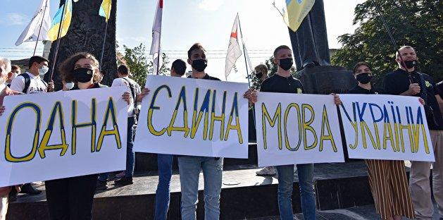 На Украине подсчитали первые жалобы за нарушение языкового закона