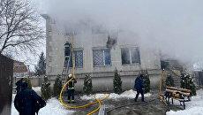 Пожар в харьковском доме престарелых: полиция задержала подозреваемых